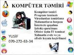 Komputer temiri. Noutbuk temiri