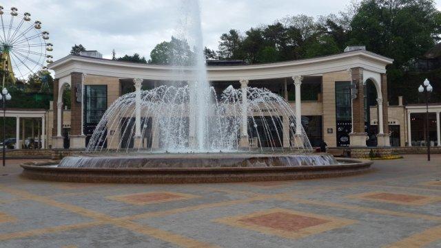 Цвето-музыкальный фонтан в Кисловодске